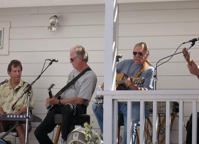 Back Porch Boogie w-Dehner Patten and Gary Yoder in Winters, CA