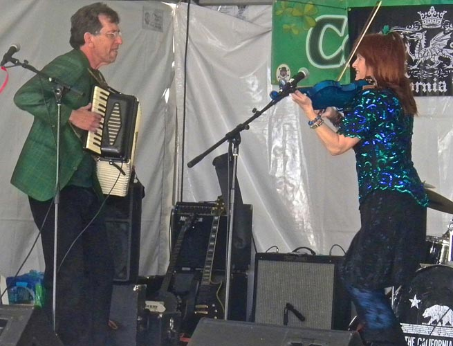 Irish Festival in Pomona with Lisa Haley and the Zydecats