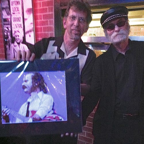 w-Steve Samuels at his Sac Blues Society Hall of Fame induction