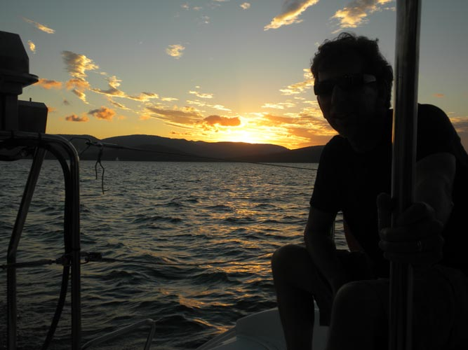 Sunset on the Whitsundays, Australia